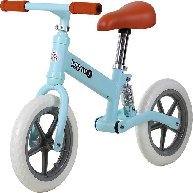 HOMCOM Kinder Laufrad mit Stoßdämpfer 85 x 36 x 54 cm (LxBxH) | Kids Lauffahrrad Lauflernrad Kinder Balance Bike - Bild 1