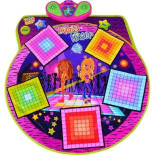 HOMCOM Kinder Tanzmatte mit Musik bunt 93 × 91 cm (LxB) | Tanzschritt Kids Spielmatte Musikmatte Spielzeug - Bild 1