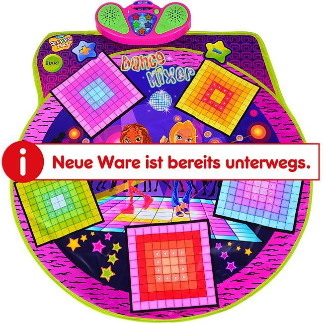 HOMCOM Kinder Tanzmatte mit Musik bunt 93 × 91 cm (LxB)   Tanzschritt Kids Spielmatte Musikmatte Spielzeug - Bild 1