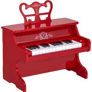HOMCOM Kinderklavier elektrisch 39,5 x 23,5 x 38,5 cm (BxTxH) | elektrisches Piano Kinder Piano Kinder Keyboard - Bild 1
