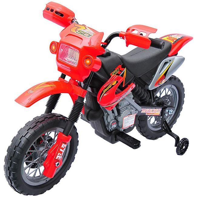 HOMCOM Kindermotorrad 102 x 53 x 66 cm (LxBxH)   Kinder Elektromotorrad Kindermotorrad Kinderauto - Bild 1