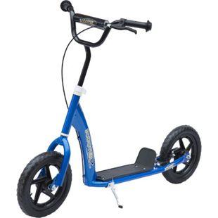 HOMCOM Kinder Cityroller 120 x 52 x (80-88) cm (LxBxH) | Tretroller Kinder Scooter Kinder Roller Bike - Bild 1