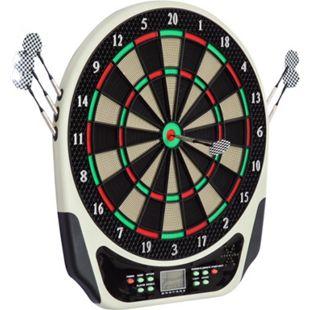 HOMCOM Elektronische Dartboard für bis zu 16 Spielern schwarz, weiß, rot, grün 44 x 3,2 x 50 cm (BxTxH) | Dartscheibe Dartboard Dartpfeile Spiel Board - Bild 1