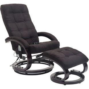 HOMCOM Massagesessel mit Wärmefunktion 86 x 66 x 115 cm (LxBxH) | TV Sessel Relaxsessel Fernsehsessel Massagestuhl - Bild 1