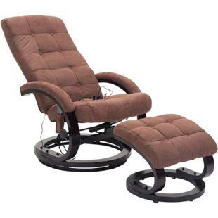 HOMCOM Massagesessel mit Wärmefunktion 86 x 66 x 115 cm (LxBxH)   TV Sessel Relaxsessel Fernsehsessel Massagestuhl - Bild 1