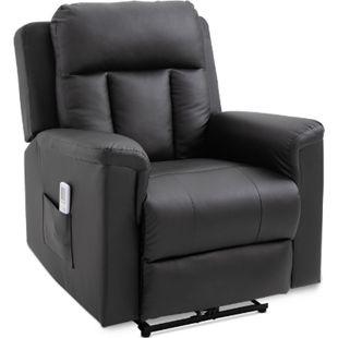 HOMCOM Fernsehsessel mit Massage- und Wärmefunktion 86 x 92 x 100 cm (BxTxH)   Massagesessel TV Sessel Relaxsessel Sessel - Bild 1