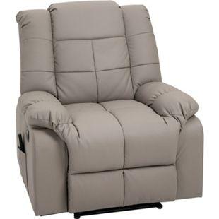 HOMCOM Massagesessel mit Wärme- und Liegefunktion 90 x 97 x 99 cm (BxTxH) | Fernsehsessel TV Sessel Relaxsessel Sessel - Bild 1