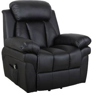HOMCOM Elektrischer Fernsehsessel mit Aufstehhilfe 96 x 93 x 103 cm (LxBxH) | Aufstehhilfe Relaxsessel TV Sessel Sessel - Bild 1