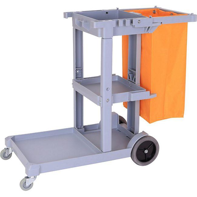 homcom putzwagen mit abfallsack geb udereinigung fahrwagen reinigungswagen online kaufen netto. Black Bedroom Furniture Sets. Home Design Ideas
