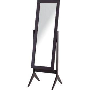 HOMCOM Standspiegel 47 x 46 x 148 cm (BxTxH) | Ganzkörperspiegel Schminkspiegel Ankleidespiegel - Bild 1