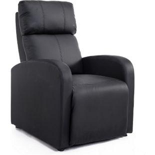 HOMCOM Fernsehsessel mit Liegefunktion 69,5 x 89,5 x 104,5 cm (LxBxH) | Relaxsessel TV Liegestuhl Wohnzimmer Sessel - Bild 1