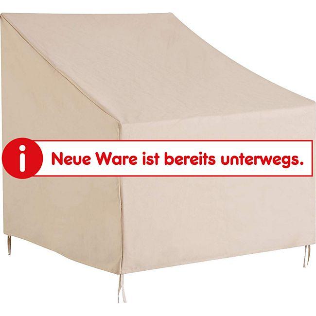 Outsunny Schutzhülle für Stühle beige 68 x 87 x 77 cm (LxBxH) | Abdeckung Gartenmöbel Abdeckhaube Stuhlabdeckung - Bild 1