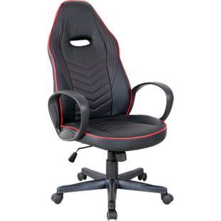 Vinsetto Gaming Stuhl mit Wippfunktion 62 x 69 x 112-121 cm (BxTxH) | Schreibtischstuhl Computerstuhl Bürostuhl Drehstuhl - Bild 1