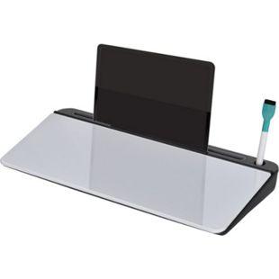 Vinsetto Schreibtischorganizer schwarz, weiß 45,5 x 20,5 x 5,3 cm (BxTxH) | Aufbewahrungsbox Büro Organisation Schreibtischbox - Bild 1