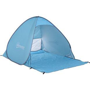 Outsunny Pop-Up Zelt für 2 Personen 150 x 200 x 115 cm (LxBxH) | Pop Up Zelt Multifunktionszelt Sonnenschutz Zelt - Bild 1