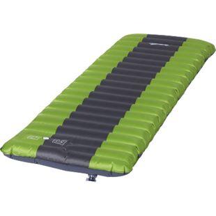 Outsunny Luftmatraze grün, grau 185 x 60 x 10 cm (LxBxH) | Aufblasbares Luftbett Campingmatraze Schlafmatte - Bild 1