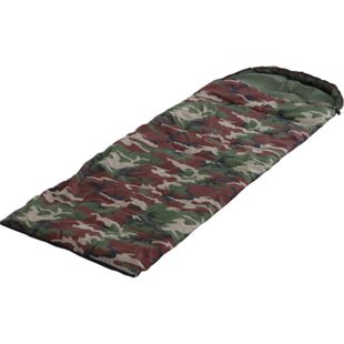 Outsunny Schlafsack Camouflage camouflage 210 x 75 cm (LxB? | Einzelschlafsack Deckschlafsack Campingschlafsack - Bild 1
