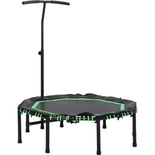 HOMCOM Fitness-Trampolin für Kinder und Erwachsene 122 x 138 cm (ØxH) | Gartentrampolin Kindertrampolin Trainingstrampolin - Bild 1
