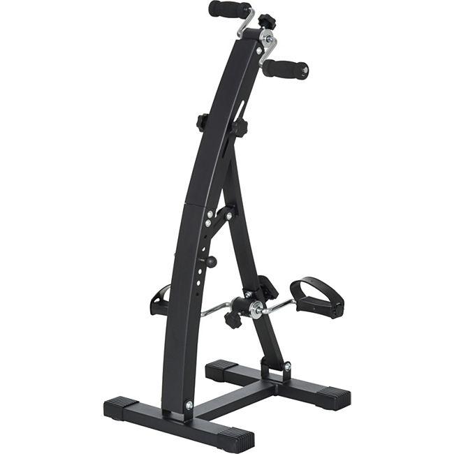 HOMCOM Bewegungstrainer für Senioren 41 x 50 x 96 cm (LxBxH)   Fahrradtrainer Trainingsgerät Fitness-Fahrrad - Bild 1
