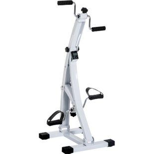 HOMCOM Bewegungstrainer für Senioren weiß 41 x 50 x 96 cm (LxBxH) | Fahrradtrainer Trainingsgerät Fitness-Fahrrad - Bild 1