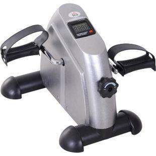 HOMCOM Pedaltrainer mit LCD-Display 39 x 40 x 31 cm (BxTxH) | Hometrainer Fitnessgerät Mini Bike Fahrradtrainer - Bild 1