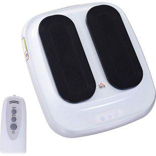 HOMCOM Elektrischer Beintrainer weiß, schwarz 46 x 40,5 x 13,5 cm (LxBxH) | Beintrainingsgerät Heimtrainer passives Training - Bild 1