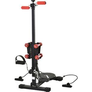 HOMCOM Beintrainer für Senioren schwarz 40 x 60 x 102-116 cm (BxTxH) | Pedal-Heimtrainer Trainingsgerät Pedaltrainer Fitness - Bild 1