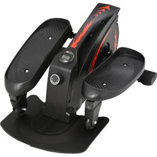 HOMCOM Mini Stepper mit LCD-Monitor schwarz 60 x 40 x 29 cm (LxBxH) | Stepper Sidestepper Fitnessgerät Mini Heimtrainer - Bild 1
