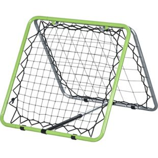 HOMCOM Rückprallwand faltbar grau, grün, schwarz 75 x 75 x 64 cm (BxTxH)   Rebounder Kickback Fußballnetz Gartenspielzeug - Bild 1