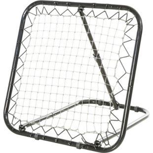 HOMCOM Rebounder schwarz 84 x 78 x 75 cm (BxTxH)   Trainingstor Torprallwand Rückpralltor Ballspiel Trainingszubehör - Bild 1