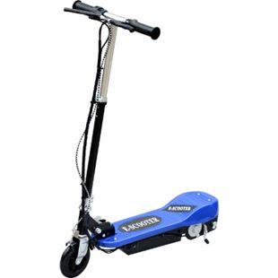 HOMCOM E-Scooter für Kinder blau, schwarz 78 x 40 x (80-96) cm (LxBxH) | Kickroller Kinder Scooter Elektroroller Kickscooter - Bild 1