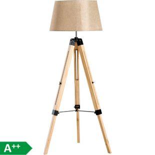 HOMCOM Stehlampe höhenverstellbar 65 x 65 x (99-143) cm (LxBxH) | Wohnzimmerlampe Standleuchte Stehleuchte Lampe - Bild 1