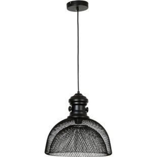 HOMCOM Pendelleuchte mit Doppelschalenschirm schwarz 36 x 148 cm (ØxH) | Deckenlampe Hängeleuchte Hängelampe Deckenleuchte - Bild 1