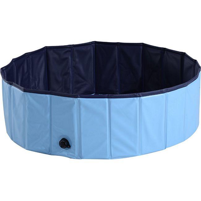 PawHut Hundepool 100 x 30 cm (ØxH) | Hunde Schwimmbad Planschbecken Schwimmbecken - Bild 1