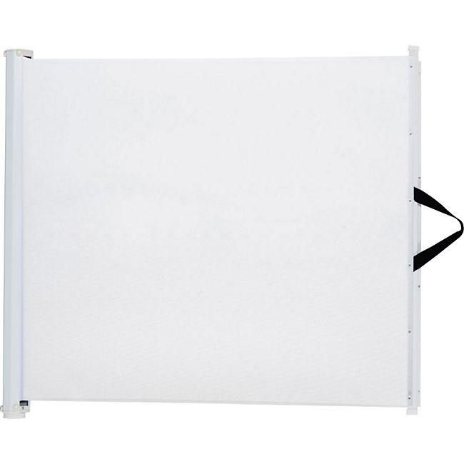 PawHut Türschutzgitter einrollbar weiß | Treppenschutzgitter Treppenschutz Hundegitter - Bild 1