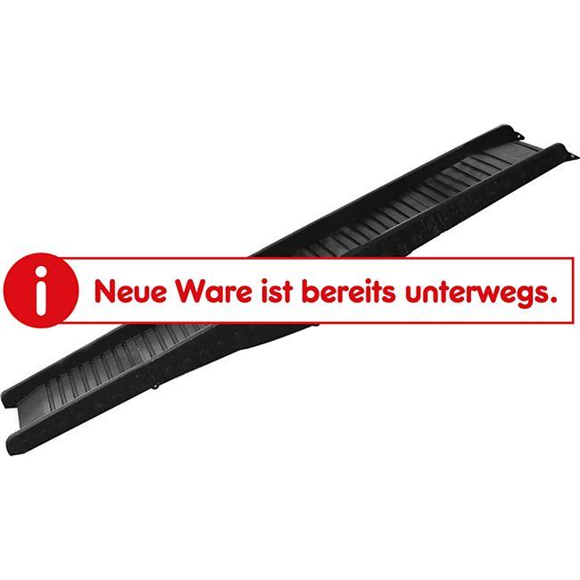 PawHut Hunderampe klappbar schwarz 152 x 43 x 4 cm (LxBxH)   Haustierrampe Hundetreppe Autorampe Einstiegshilfe - Bild 1