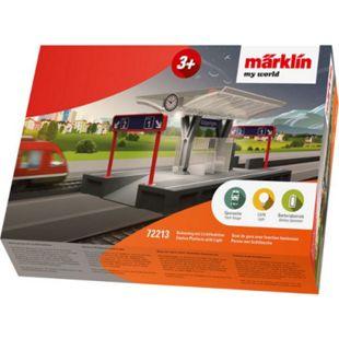 Märklin 72213  My World Bahnsteig mit Licht - Bild 1