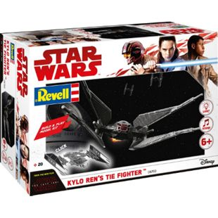 Revell 06760 Star Wars Modellbausatz Build & Play Kylo Rens TIE Fighter 1:70, ab 6 Jahre - Bild 1