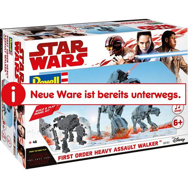 Revell 06761 Star Wars Modellbausatz Build & Play AT-M6 Kampfläufer 1:164, ab 6 Jahre - Bild 1