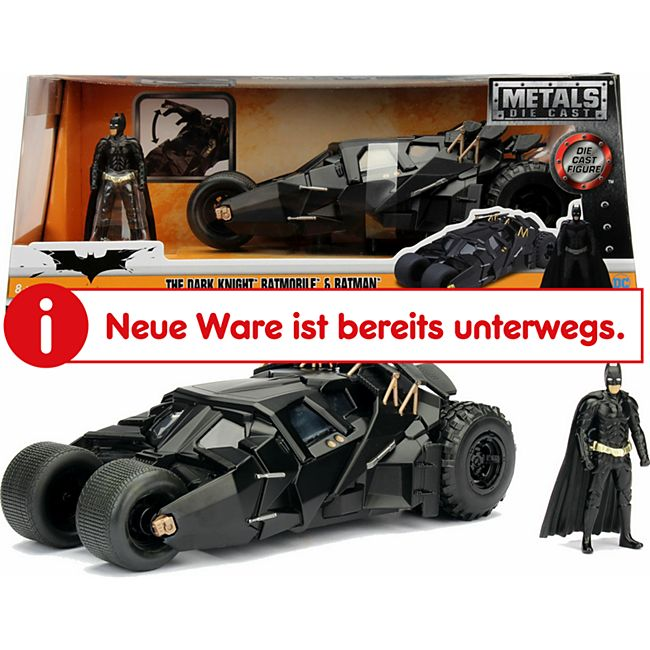 Simba Jada Batman The Dark Knight Batmobile 1:24 - Bild 1