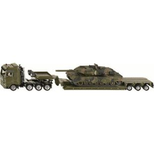 siku 1872 Tieflader mit Panzer 1:87 - Bild 1