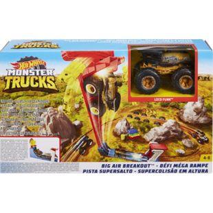 Hot Wheels Mattel GCG00 Hot Wheels Monster Trucks Mega Sprung-Blaster + Fahrzeug - Bild 1