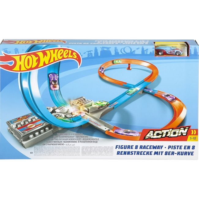 Hot Wheels Mattel GGF92 Hot Wheels Action Figur 8 Raceway - Bild 1