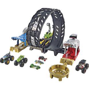 Hot Wheels Mattel GKY00 Hot Wheels Monster Trucks Monster Loop Spielset - Bild 1
