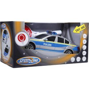Speedzone Polizeiauto mit Polizeikelle - Bild 1
