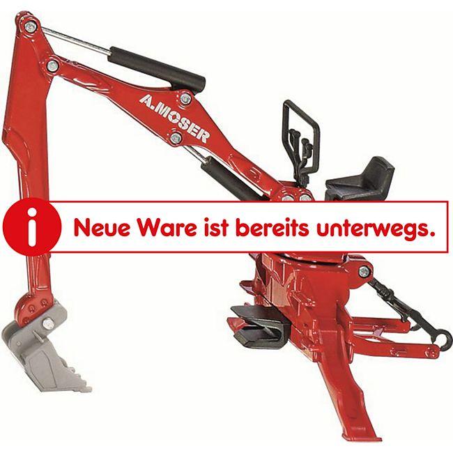 siku 2066 Moser Heckbagger für Traktoren 1:32 - Bild 1