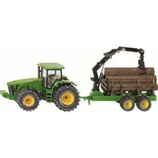 siku 1954 Traktor mit Forstanhänger 1:50 - Bild 1