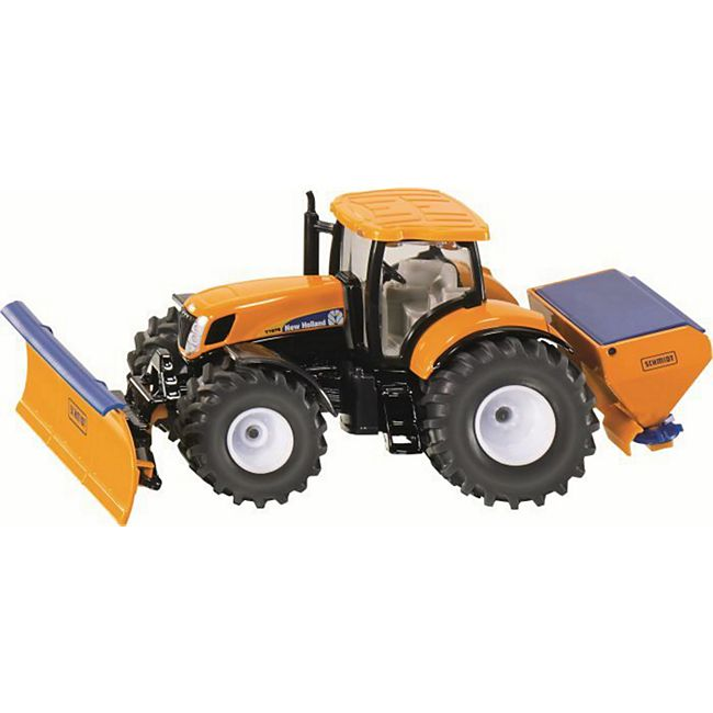 siku 2940 Traktor mit Räumschild und Salzstreuer 1:50 - Bild 1