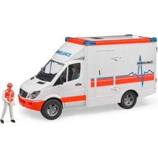bruder 02536 MB Sprinter Ambulanz mit Fahrer - Bild 1