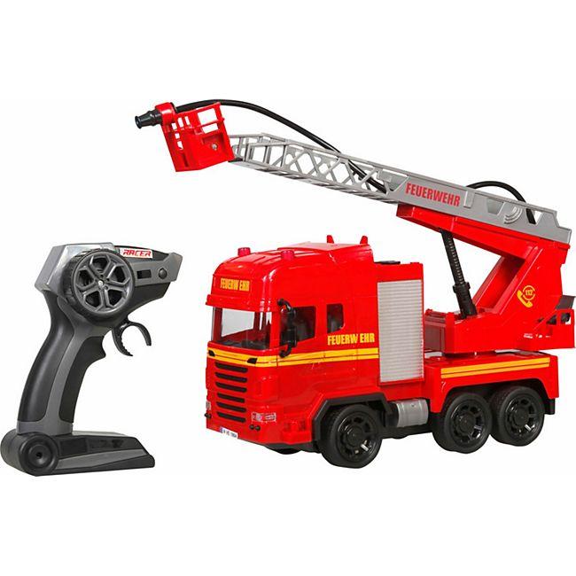 Racer R/C Feuerwehr mit Licht & Sound, 2.4GHz - Bild 1